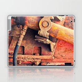 Old rusty iron piece Laptop & iPad Skin