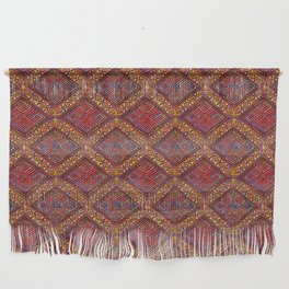 Bohemian African Mud Cloth Inspired by Cherie Wall Hanging