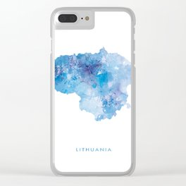 Lithuania Clear iPhone Case
