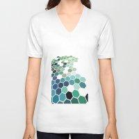 colorado V-neck T-shirts featuring Colorado by Bakmann Art