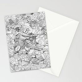 Adult Coloringbook Template Random Stationery Cards