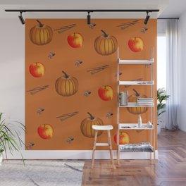 Fall Spice Wall Mural