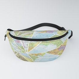 Its a Mixed Up World Fanny Pack