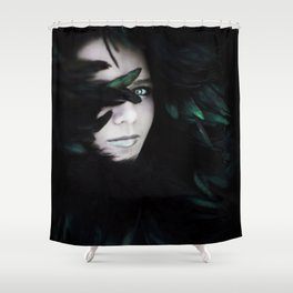 Delicate in Every Way Shower Curtain