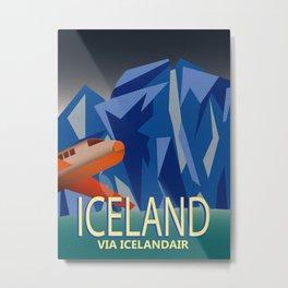 Iceland Air Metal Print