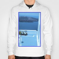 greek Hoodies featuring Greek Holiday by Brian Raggatt
