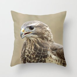 magnificent falcon Throw Pillow