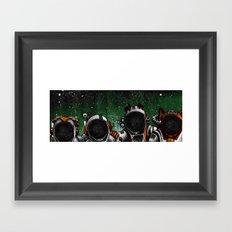 The 0% Framed Art Print