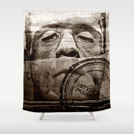 The wall in your head... Shower Curtain