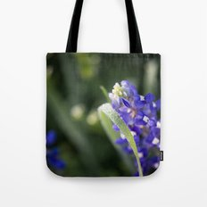 Blue Morning Dew Tote Bag