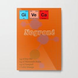 Negroni Metal Print