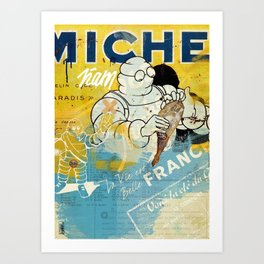 Michelin Ñam Ham Art Print