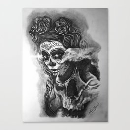 Skull1 Canvas Print