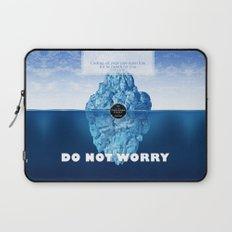 1 Peter 5:7 Worry Laptop Sleeve