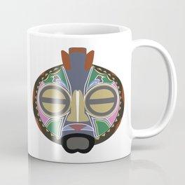 African Tribal Mask No. 6 Coffee Mug