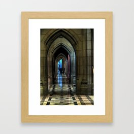 Washington National Cathedral, D.C. Framed Art Print
