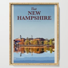 Visit New Hampshire  Serving Tray