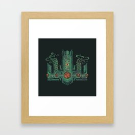 The Crown of Cthulhu Framed Art Print