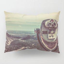 Wanderlust Vintage Tourist Binoculars Pillow Sham