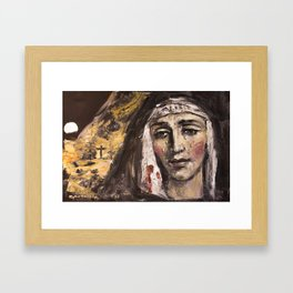 Calvary Framed Art Print