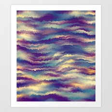 Painted Rainbows 8 Art Print