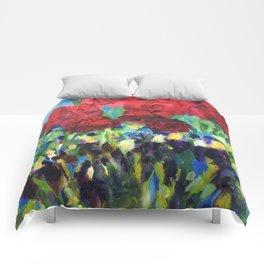 Harmony of Roses Comforters