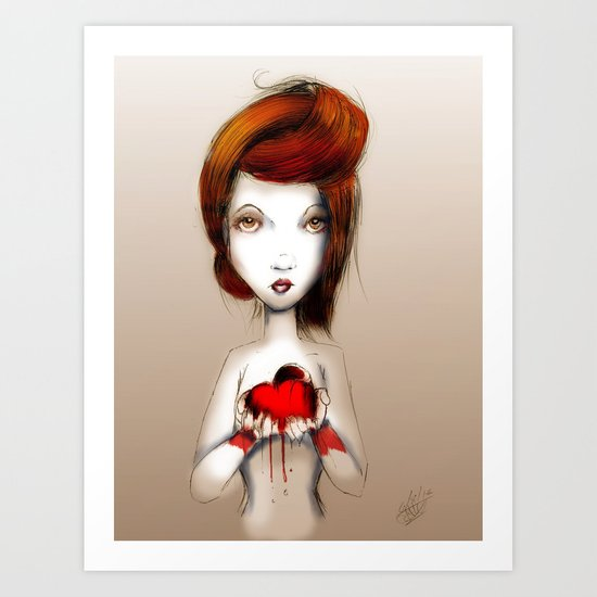 I'm Giving this to You Art Print