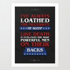 House of Cards - Chapter 23 Art Print
