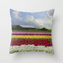Flower Art - Hope Is by Jordan Blackstone Throw Pillow