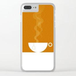 Cuppa Tea? Clear iPhone Case