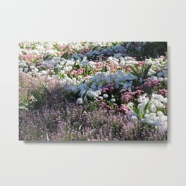 floral array Metal Print