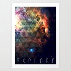 Explore II Art Print