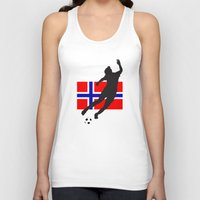 norway Tank Tops featuring Norway - WWC by Alrkeaton