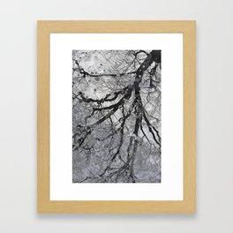 One Last Blow Framed Art Print