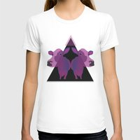 cows T-shirts featuring Psychadelic cows by Lisa Hamberg