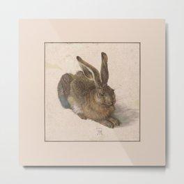 Albrecht Durer - The hare Metal Print