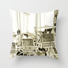 Travelling Chairs Throw Pillow