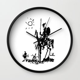 don quixote Wall Clock