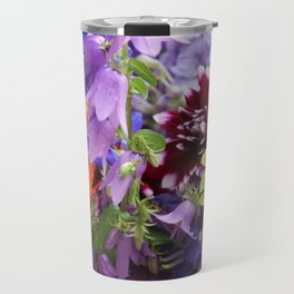 Profusion of Flower Friends By Mandy Ramsey Travel Mug