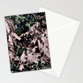 Oak Leaves Camo Stationery Cards