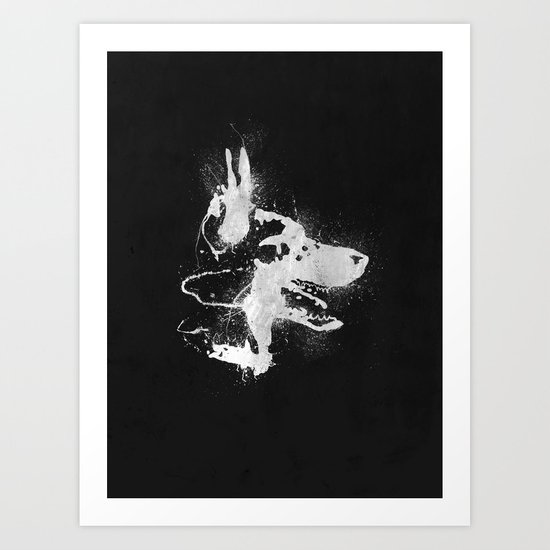 watchdog Art Print