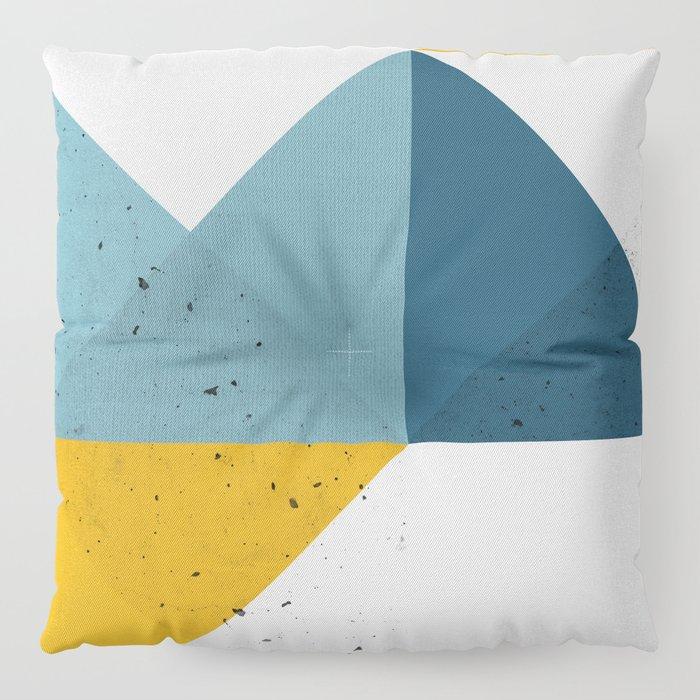Modern Geometric 19 Floor Pillow