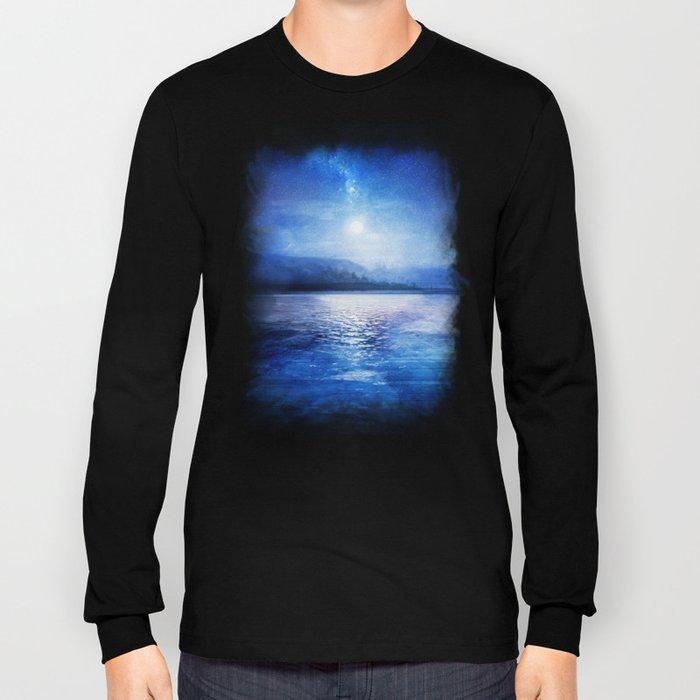 Our secret blue space Long Sleeve T-shirt