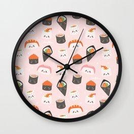 Sushi Gang Wall Clock