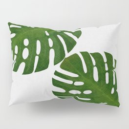 Monstera Leaf II Pillow Sham