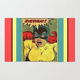 batgirl SATAN Rug