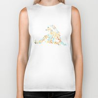 cheetah Biker Tanks featuring Cheetah by leeas