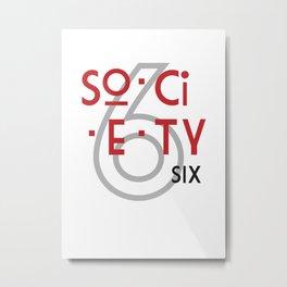 s6_tee_3 - Gimme Some Syllables Metal Print