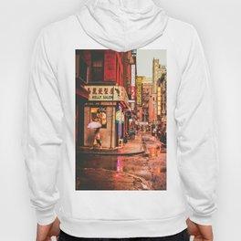 New York City Rain in Chinatown Hoody