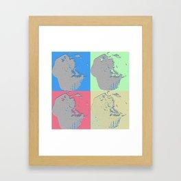 Muffin Art Framed Art Print